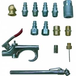 Kit de accesorios para aire de 14 piezas