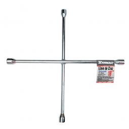 Llave de cruz galvanizada 18