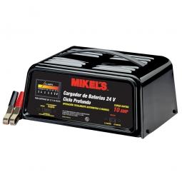 Cargador de baterías con arrancador