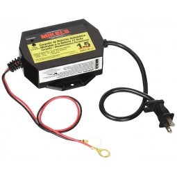 Cargador baterías automatico 1.5 amperes 12 V