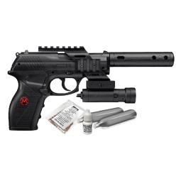 Kit pistola co2 tacc11kit2 c/mira isr 4.5