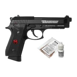 Pistola co2 pfam9b full metal retroceso 4.5