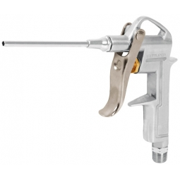 Pistola metálica para sopletear