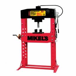Prensa hidraulica con piston de 75 ton