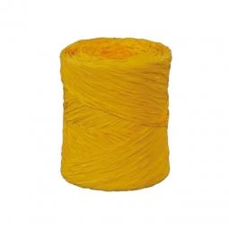 Rafia comercial amarilla 2mm (100gr)