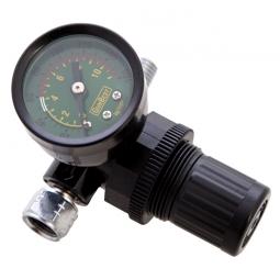 Regulador de aire de diafragma con manómetro 1/4
