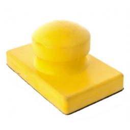 Respaldo de mano con velcro mango redondo