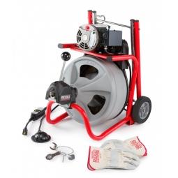Limpiadora de desagües de tambor