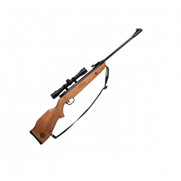 Rifle centenario barniz cal. 5.5 mira 4x32