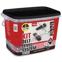 Nivelador kit delta level system de 1.5mm