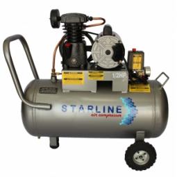 Compresor eléctrico de 1/2 HP, 48 litros