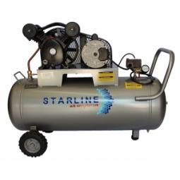 Compresor eléctrico de 1 HP, 108 litros