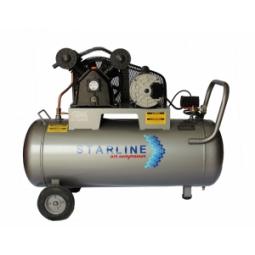 Compresor eléctrico de 1.5 HP, 108 litros