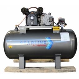Compresor eléctrico de 2 HP, 235 litros