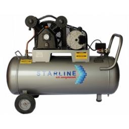 Compresor eléctrico de 2 HP, 108 litros