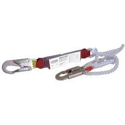 Amotiguador de impacto con cuerda de nailon