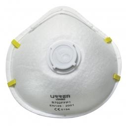 Mascarilla filtra polvos con válvula