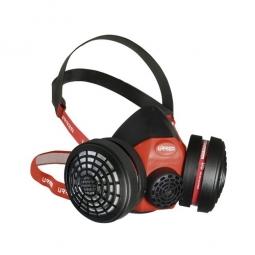 Respirador 2 filtros media cara