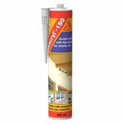 Sellador acrilico blanco de 300 ml