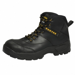 Botas negras con casquillo de acero 27.5cm