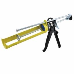 Pistola calafateadora reforzada doble
