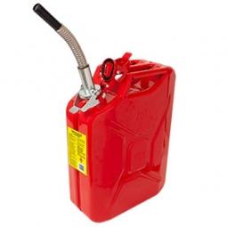 Tanque metalico de seguridad para gasolina 20l