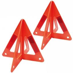 Triángulos reflejante 10