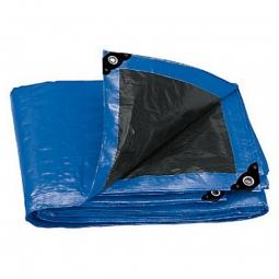 Lona reforzada de color azul 2 x 3 m