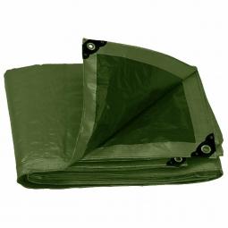 Lona de uso rudo color verde 2 x 3 m