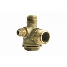 Válvula check para compresor libre de aceite