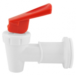 Valvula de palanca roja para enfriador electrico