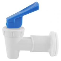 Valvula de palanca azul para enfriador electrico