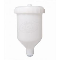 Vaso de plástico para pistola de gravedad de 600 ml