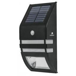 Arbotantes solar con sensor de movimiento, 2 leds