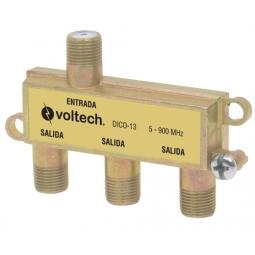 Divisor (splitter) de 3 salidas