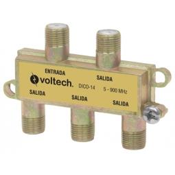 Accesorios para video divisor (splitter) de 4 salidas