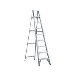 Escalera tipo tijera de aluminio