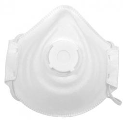 Mascarilla con válvula para polvos orgánicos